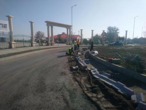 Tiszaföldvár körforgalom